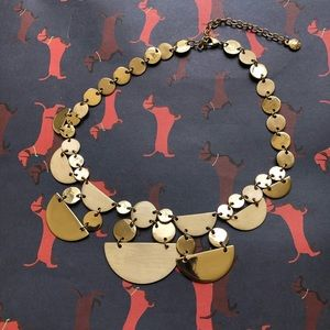 Brand new Anthropologie baublebar gold necklace